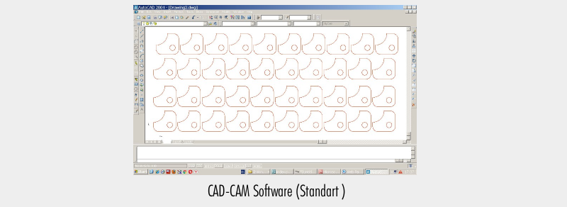CAD-CAM Software (Standart )